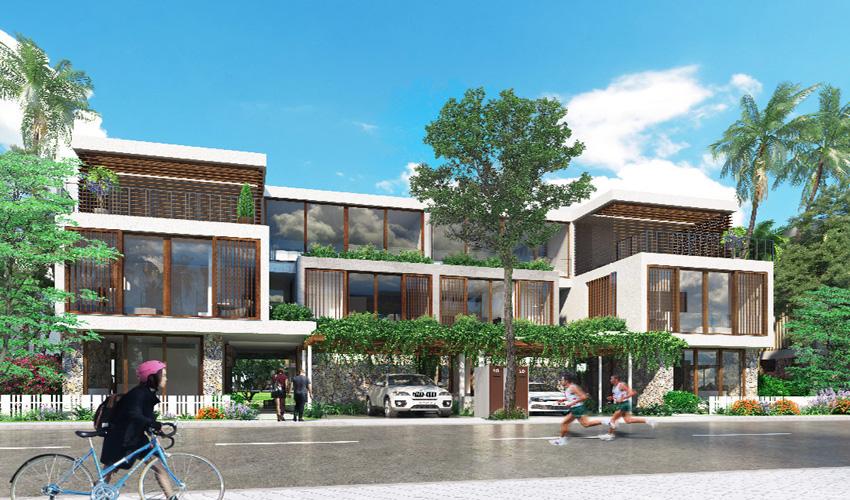 Biệt thự Ecopark Vinh Nghệ An diện tích khoảng 660m